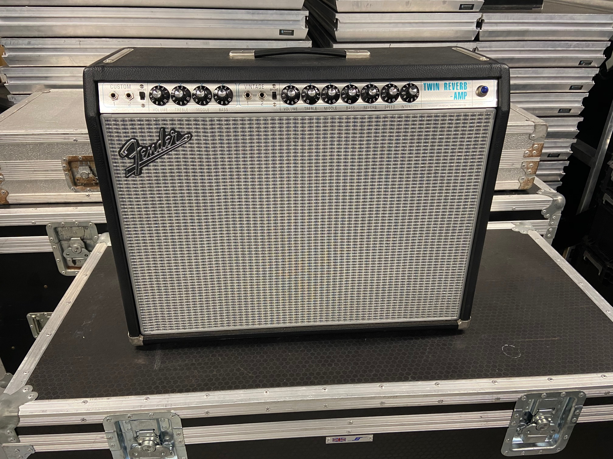 Fender Twin Custom 68 Guitar Combo